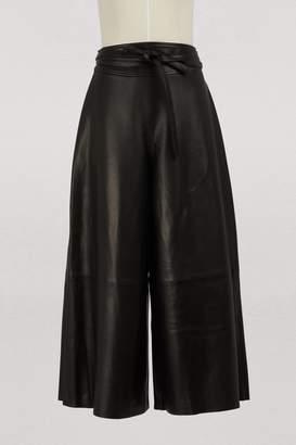 Vanessa Seward Georgia lambskin pants