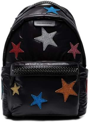 Stella McCartney Falabella Go glitter stars backpack