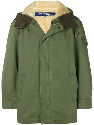 Junya Watanabe hooded casual coat