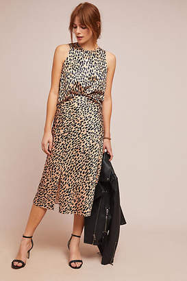 bdbe55deb at Anthropologie · Hutch Leopard Midi Skirt