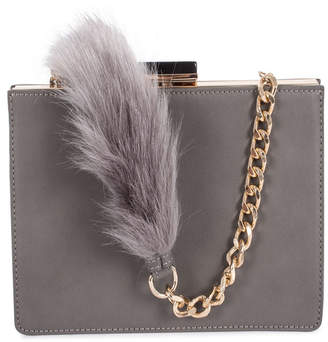 Celine Dion Collection Leather-Like Resonnance Clutch