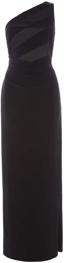 Lauren Ralph Lauren One Shoulder Gown