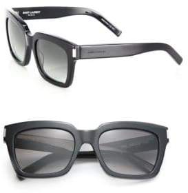 Saint Laurent Bold 1 Thick Square Sunglasses