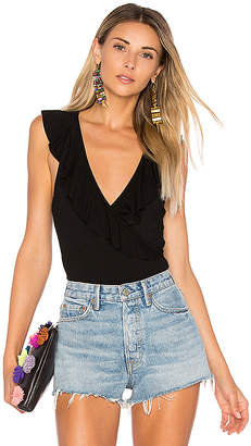 by the way. Flora Ruffle Bodysuit