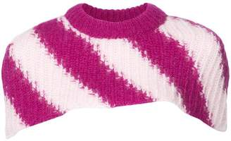 Calvin Klein knitted collar