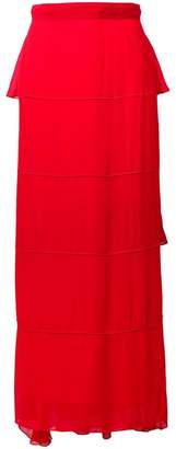 Karl Lagerfeld Paris layered maxi skirt