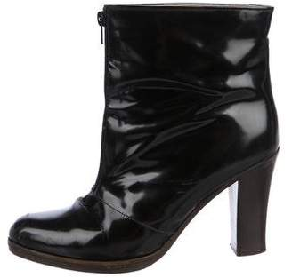 Marni Patent Leather Ankle Boots