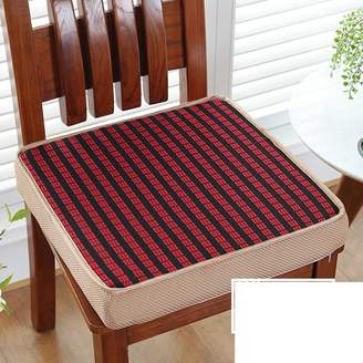 LJ&XJ Dining chairs cushion,Winter thickened sponge seat cushion for office floor bay window tatai student stool sofa bench cushion reovable cleaning