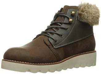 Rocket Dog Women's Shelby Graham Pu-Owlette Fabric Ankle Bootie