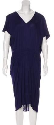 Miguelina Jersey Midi Dress
