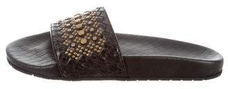 Bottega Veneta Embellished Slide Sandals