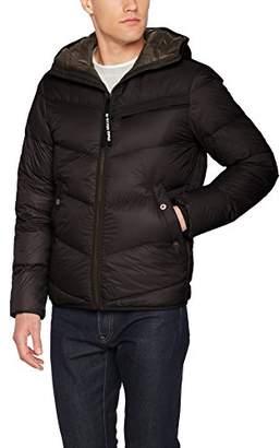G Star Men's Attacc Qlt HDD Down JKT Jacket, (Black 990), X