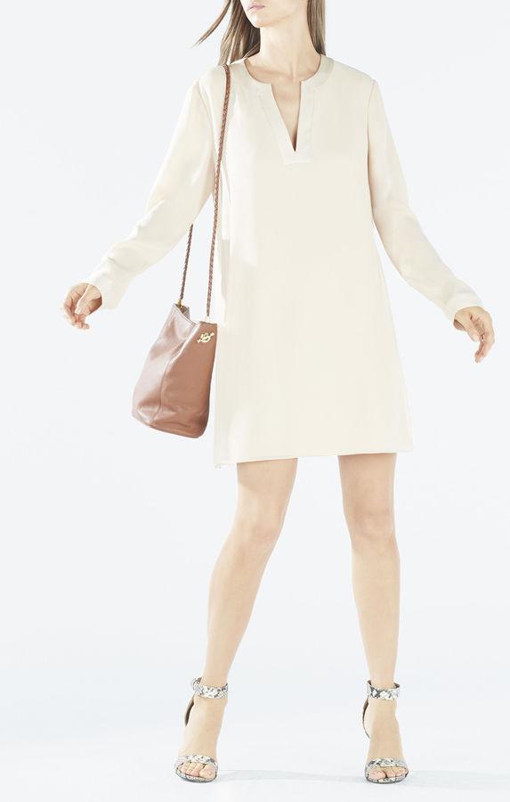 BCBGMAXAZRIADyanna Long-Sleeve Tunic Dress
