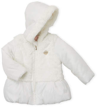 9043d45cd Kids Lined Jacket With Faux Fur Lined Hood - ShopStyle