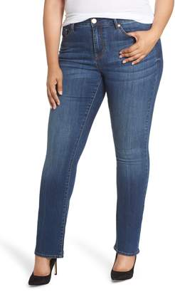 Seven7 Mid Rise Micro Bootcut Jeans