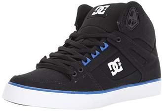 DC Men's Spartan High WC TX Skate Shoe Black/White