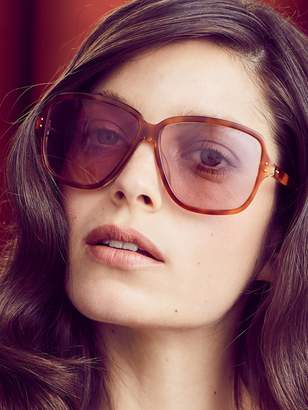 Linda Farrow Luxe Women's Oversized Tinted Square Frame