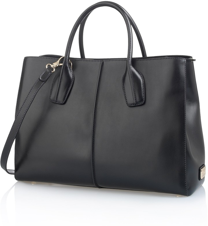 D-Styling Medium Leather Shopping Bag