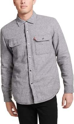 Levi's Levis Men's Sherpa-Lined Shirt Jacket