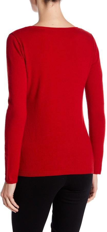 In Cashmere Cashmere Open-Stitch Pullover Sweater 13