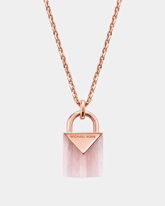 Michael Kors Premium Rose Gold-Tone Necklace