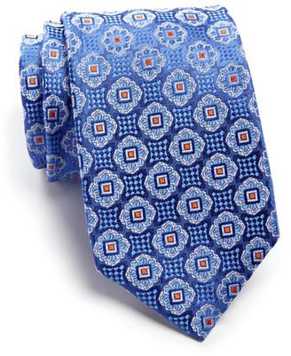 John W. Nordstrom Garza Medallion Silk Tie $89.50 thestylecure.com
