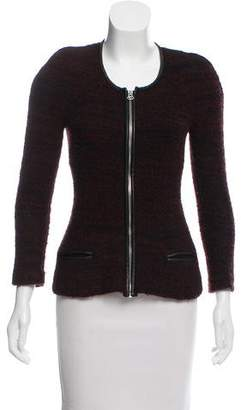 Etoile Isabel Marant Leather-trimmed Textured Jacket