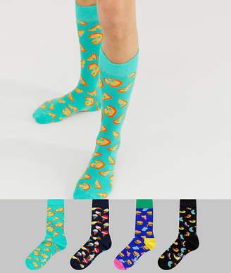 Happy Socks 4 pack Junk Food gift box