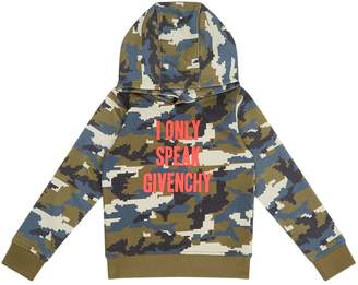 Givenchy I Only Speak Camo Hoodie