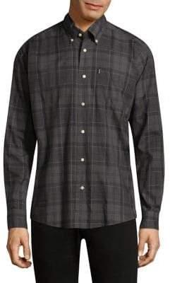 Barbour Plaid Cotton Button-Down Shirt
