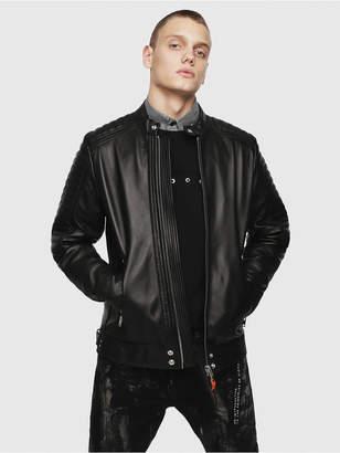 Diesel Leather jackets 0TAUH - Black - S