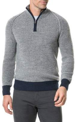 Rodd & Gunn Men's Mackinder Half-Zip Wool Sweater