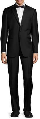 Saks Fifth Avenue Wool Notch Lapel Tuxedo