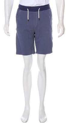 Shades of Grey Woven Flat Front Shorts