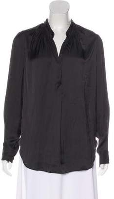 Raquel Allegra Oversize Long Sleeve Top