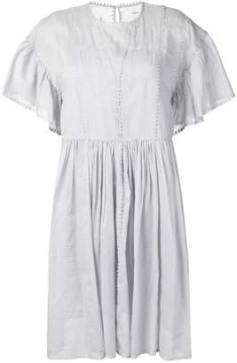 Etoile Isabel Marant flared midi dress
