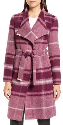 Ted Baker Check Wrap Coat