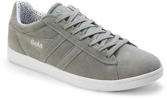 Gola Grey Equipe Dot Suede Low-Top Sneakers