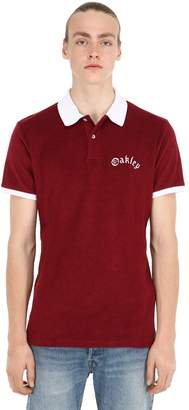 Oakley Tnp Tnp Cotton Blend Polo