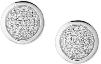 Links of London Diamond Essentials Pavé Round Stud Earrings