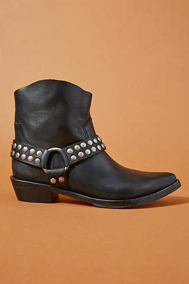 Queen Bee Studded Moto Boots
