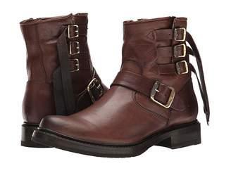 Frye Veronica Strap Short Cowboy Boots