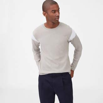 Club Monaco Colorblock Crewneck Sweater