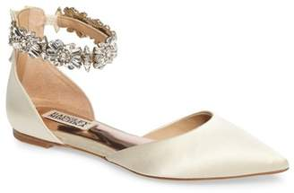 Badgley Mischka Morgen Ankle Strap Flat