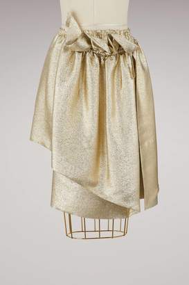 Stella McCartney Brynn metallic skirt