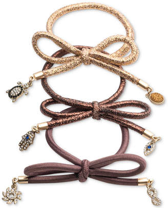 lonna & lilly 3-Pc. Embellished Hair Tie Set