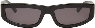 Stella McCartney Black Rectangular Sunglasses $250 thestylecure.com