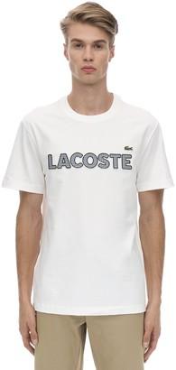 Lacoste (ラコステ) - LACOSTE コットンジャージーTシャツ