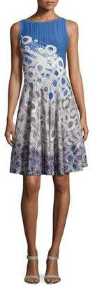NIC+ZOE Rain Drops Twirl Dress $228 thestylecure.com