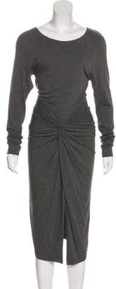 Donna Karan Jersey Midi Dress
